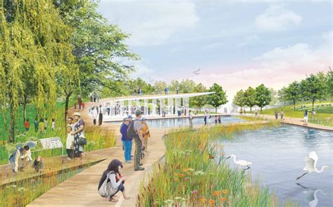 Constitution Gardens by Redesigning The National Mall Constitution Gardens