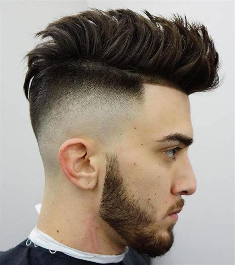 popular high fade haircut  men update