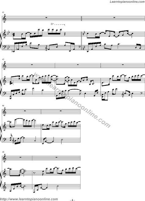 tutorial piano because of you yiruma because i love you 4 free piano sheet music