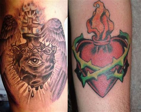 sacred heart tattoo meaning sacred tattoos me now
