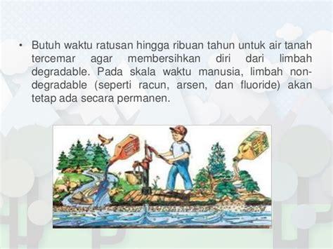 Limbah Kimia Dalam Pencemaran Udara Dan Air Ign Suharto kontaminasi tanah air dan udara oleh limbah
