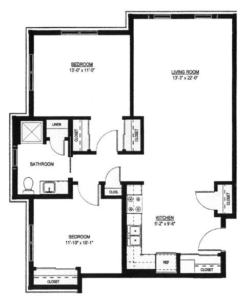 2 bedroom 1 bath floor plans two bedroom floor plans one bath ideas including smallhouseplans home designs picture bedone sq
