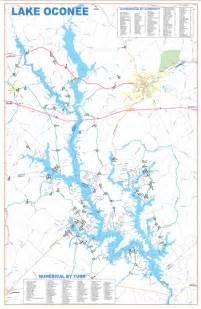 map of lake oconee