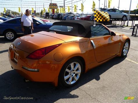 orange nissan 350z orange nissan 350z cars sale