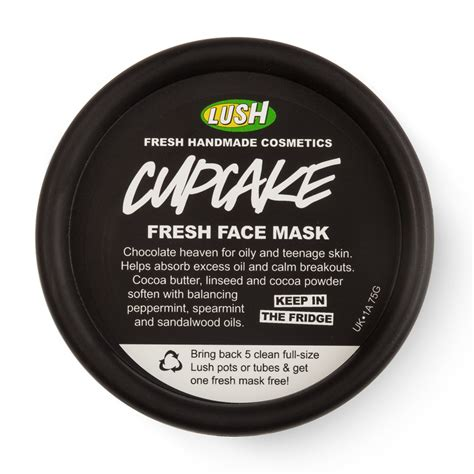 Masker Lush lush cupcake fresh mask review copperpink