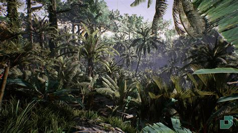 Tropical Jungle tropical jungle by dokyo in environments ue4 marketplace