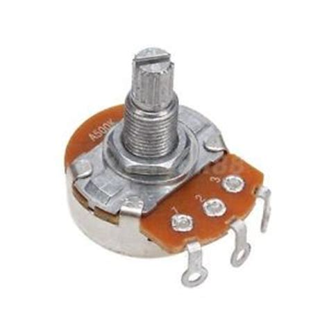 what is linear variable resistor a 500k ohm guitar audio volume potentiometer variable resistor linear switch pot