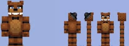 Freddy 39 s at five nights minecraft skin