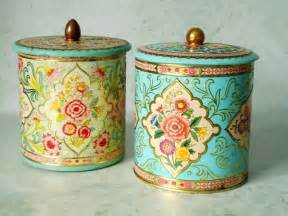 kitchen canisters canada vintage floral tin storage canisters vintage canisters