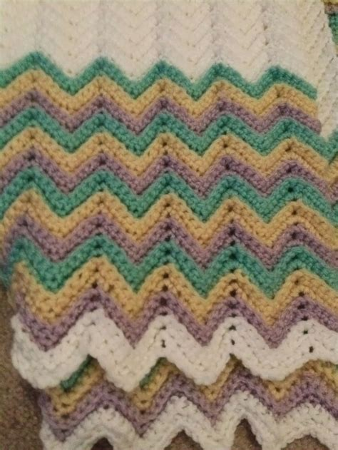 zigzag crochet baby afghan pattern crochet pattern for zig zag baby blanket manet for