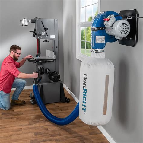 rockler dust   cfm wall mount dust collector