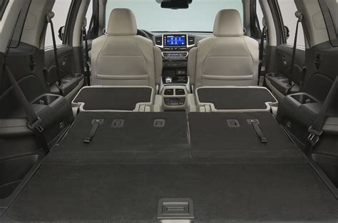 space seating 2016 honda pilot cargo comparison to 3 row suvs fisher honda