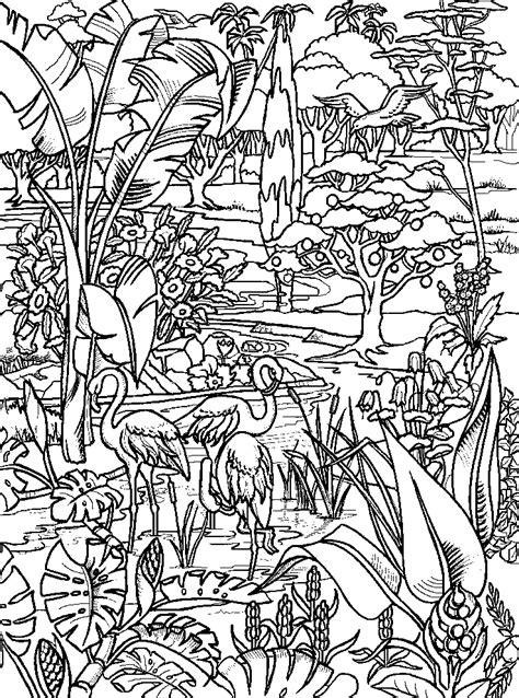 coloring pages garden of eden garden of eden b w pics to color pinterest
