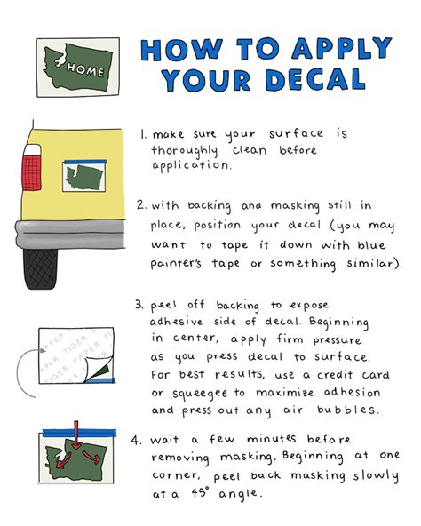 how to apply your decal paper tiger