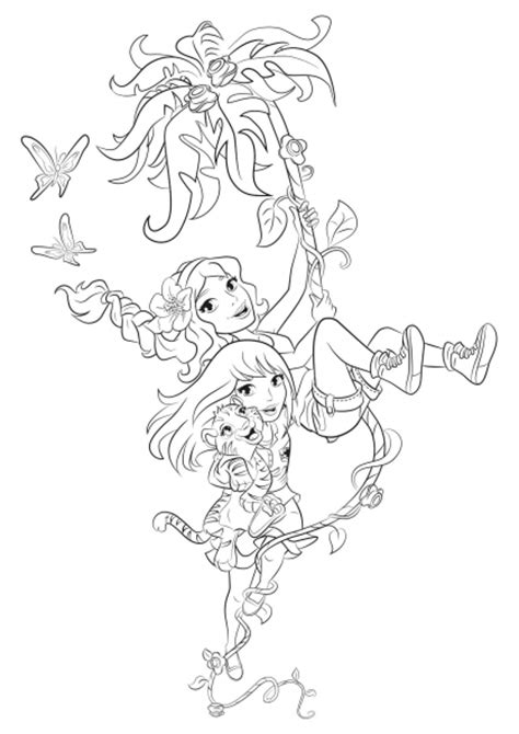 lego friends jungle coloring pages 15 dessins de coloriage lego friends jungle 224 imprimer