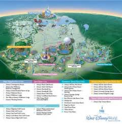 Disney World Map Of Resorts by Shades Of Green Walt Disney World Map World Resort