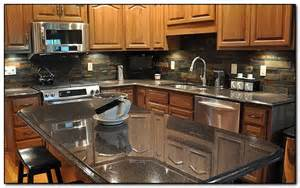 kitchen countertops and backsplash creating the perfect