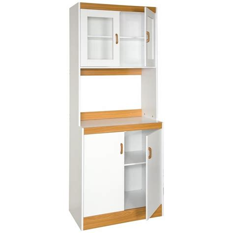 home kitchen storage cabinets tall kitchen storage cupboard with microwave space