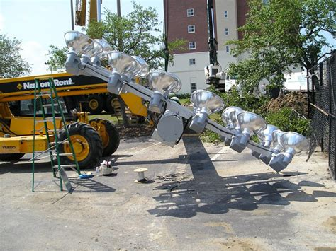 baseball field lighting systems baseball barrier netting field lighting university of