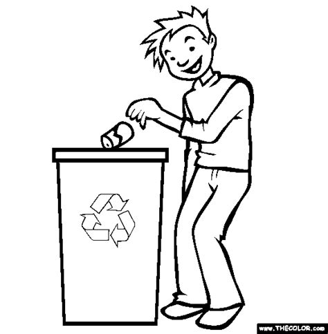 Recycling Coloring Pages Az Coloring Pages Recycling Coloring Page