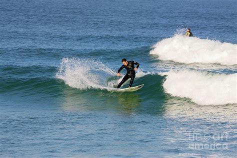 Surfing Florida by Surfing In Florida 2 Photograph By Deborah Benoit