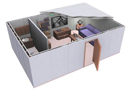 building a panic room in your house technokontrol home office panic rooms bunkers