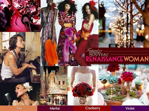 renaissance merlot cranberry violet color palettes wedding advice harlem