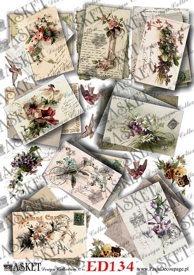 Asket Decoupage - asket papier do decoupage crafts