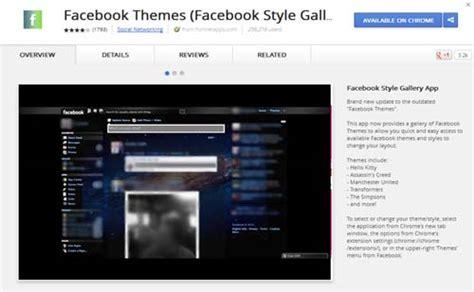 facebook themes download 2013 facebook themes extensi 243 n para personalizar tu perfil
