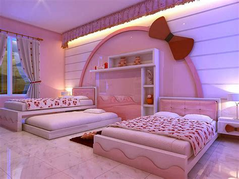 bed inspired design ideas for a dream bedroom style nice decors 187 blog archive 187 hello kitty room designs a