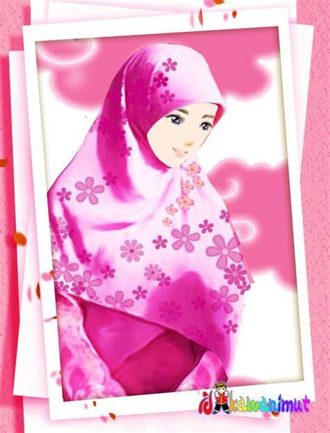 wallpaper cantik islami 20 gambar kartun islami terbaru caroldoey