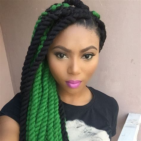 nigerian wool hairstyles for 2016 trends coloured braids