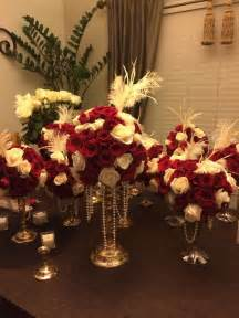 Great Gatsby Diy Decorations by My Diy Great Gatsby Centerpieces Mhs Prom 2014