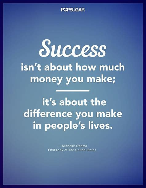 Make You Work success isnt about how much money you make its about the