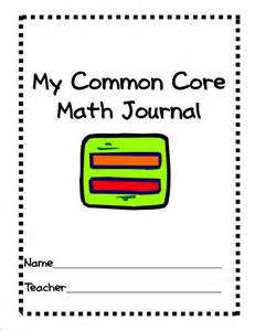 Math Journal Template by Simply Centers Common Math Rotation Vocabulary
