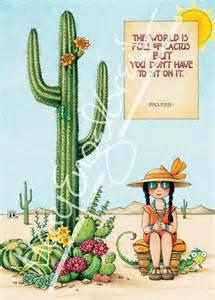 cactus greeting card mary engelbreit