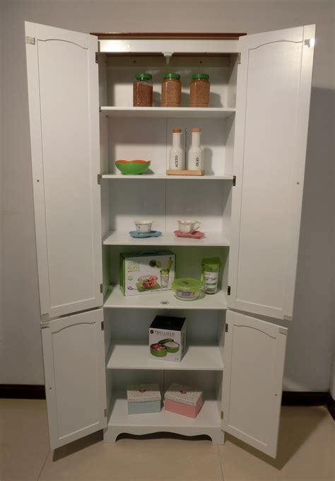 Bathroom Pantry Cabinets by Kitchen Pantry Linen Storage Cabinet Cupboard Bathroom