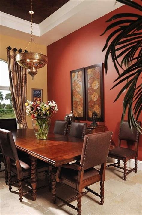 dining room walls modern dining room with moroccan ambiance beige and red