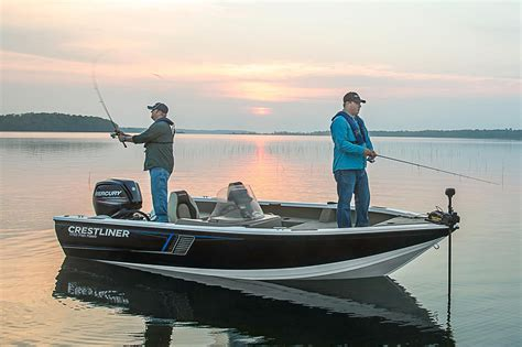 sport fishing boats for sale in sc 2016 new crestliner 1750 fish hawk sc aluminum fishing