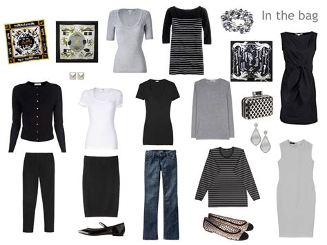 Capsule Travel Wardrobe by A Travel Capsule Wardrobe What To Pack For In Grey