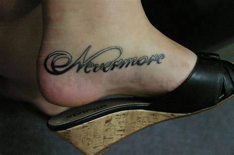nevermore tattoo nevermore contrariwise literary tattoos