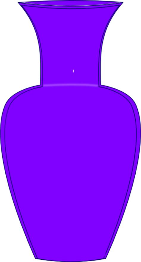 Vase Clipart purple vase clip at clker vector clip royalty free domain
