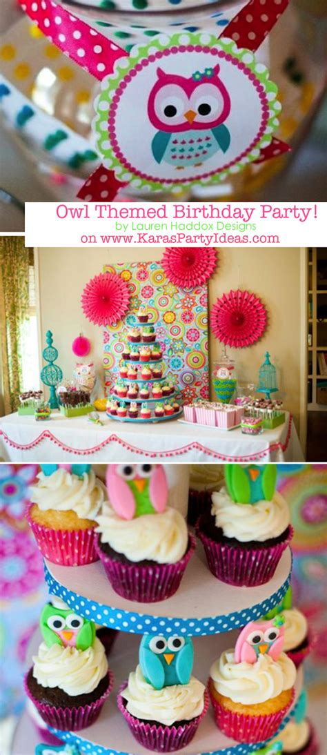owl theme owl whoo s one themed birthday supplies planning idea