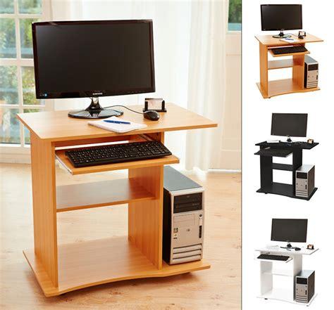 Schreibtisch Computertisch by Computertisch Pc Schreibtisch B 252 Rotisch In Schwarz Oder
