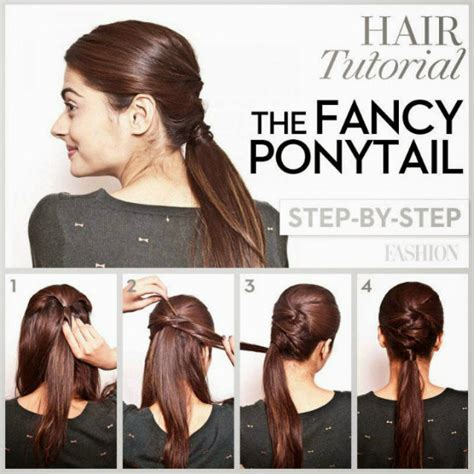 how to cut bob style hair from ponytail the fancy long hair ponytail styles for prom latest hair