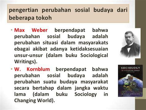 Unsur Unsur Pemikiran Ilmiah Dalam Ilmu Ilmu Sosial perubahan sosial