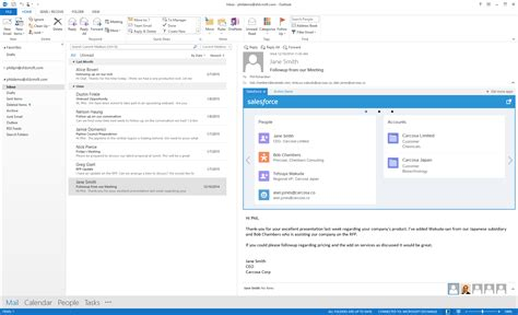 Office 365 Outlook As Read The New Salesforce App For Outlook Nokipedia