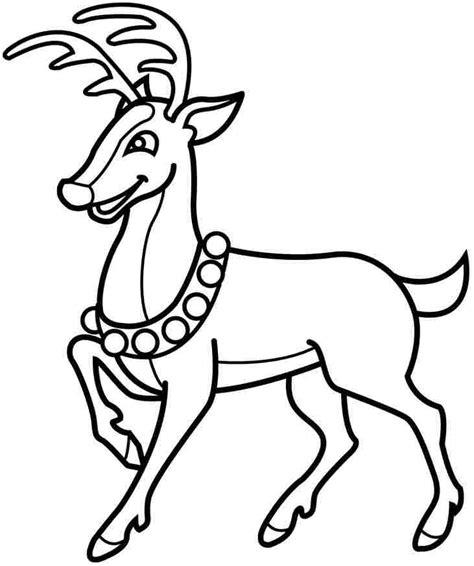 santa coloring page for preschoolers christmas santa deer coloring pages free for preschool