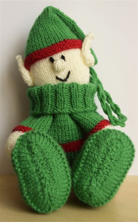 knitting pattern christmas elf elf baggles gift bag knitting by post
