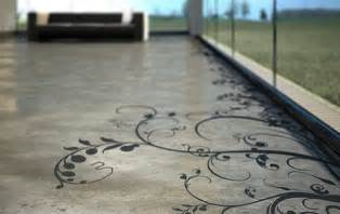 Ugly Backyard Makeovers Creative Concrete Floor Patterns And Prints